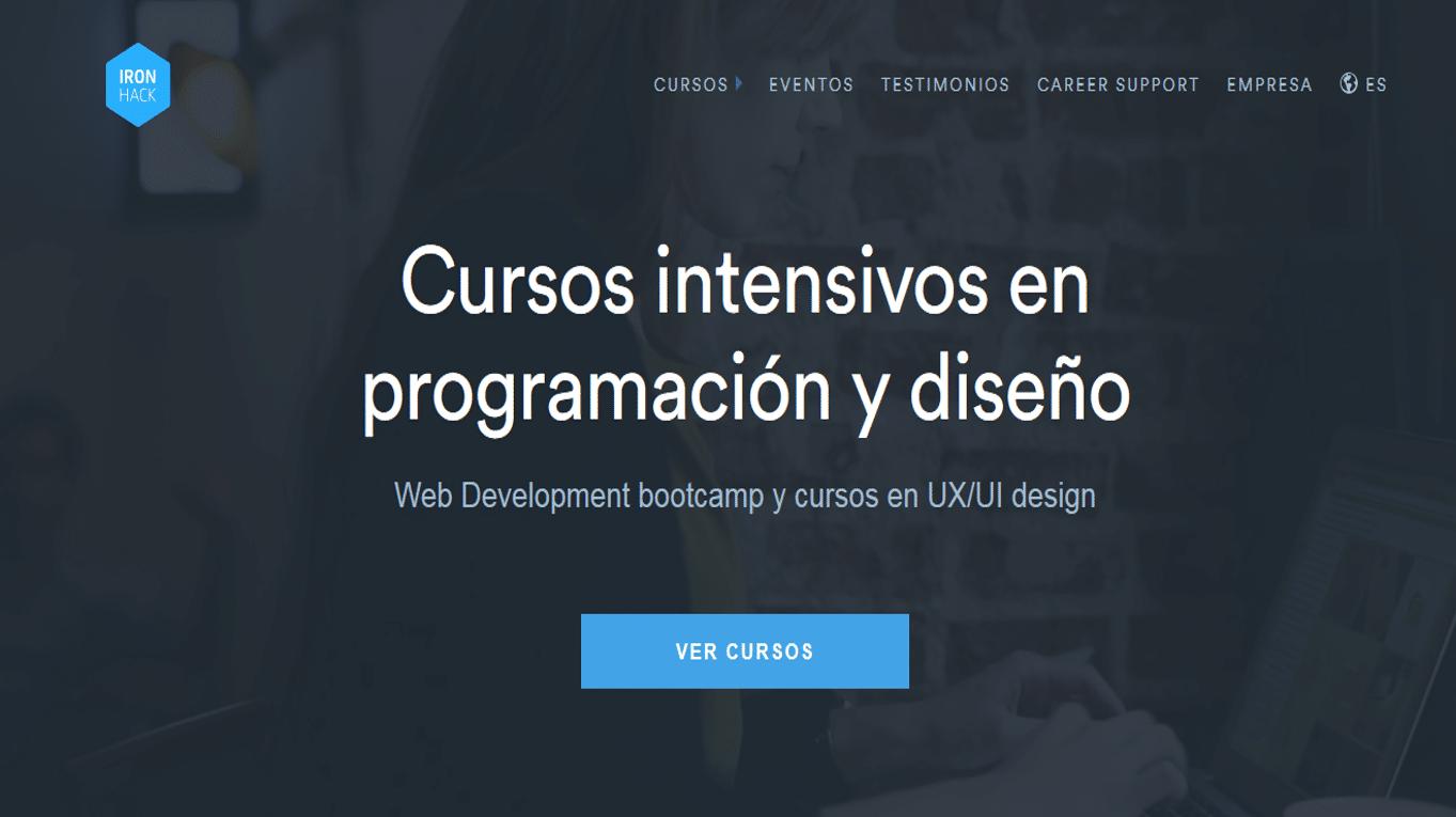 Ironhack, la empresa española de formación en programación y diseño web recibe una ronda de €2,6M
