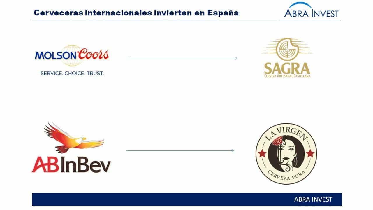 Inversores extranjeros impulsan la cerveza artesanal Española: La Virgen y La Sagra