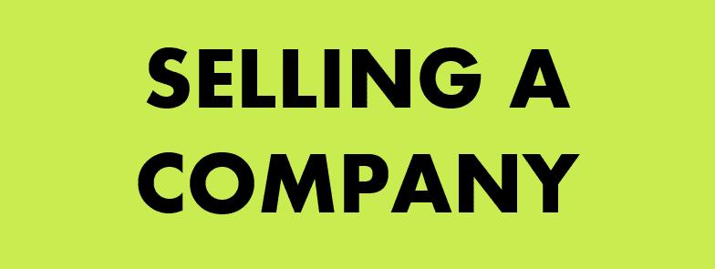selling a company